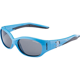 Alpina Flexxy Kids Occhiali Bambino, blue dog